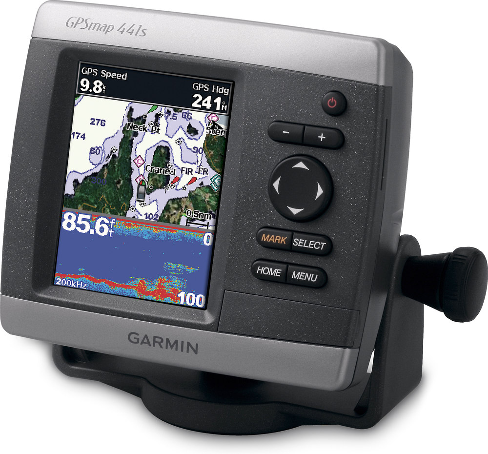 "garmin gpsmap 441s chartplotter/fishfinder with 4"" display, Fish Finder"