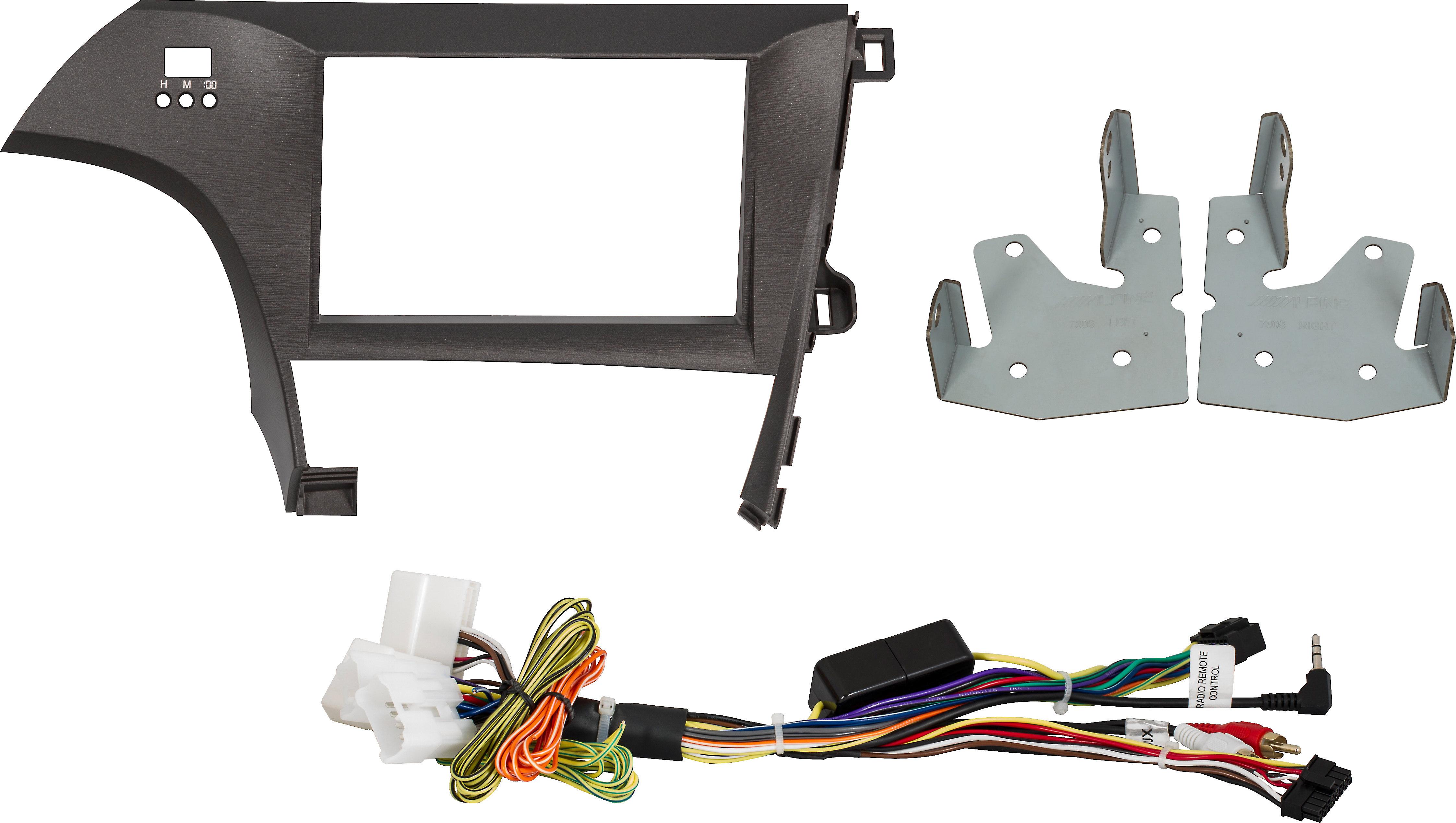 Alpine KTX-PRS8 Restyle Dash and Wiring Kit
