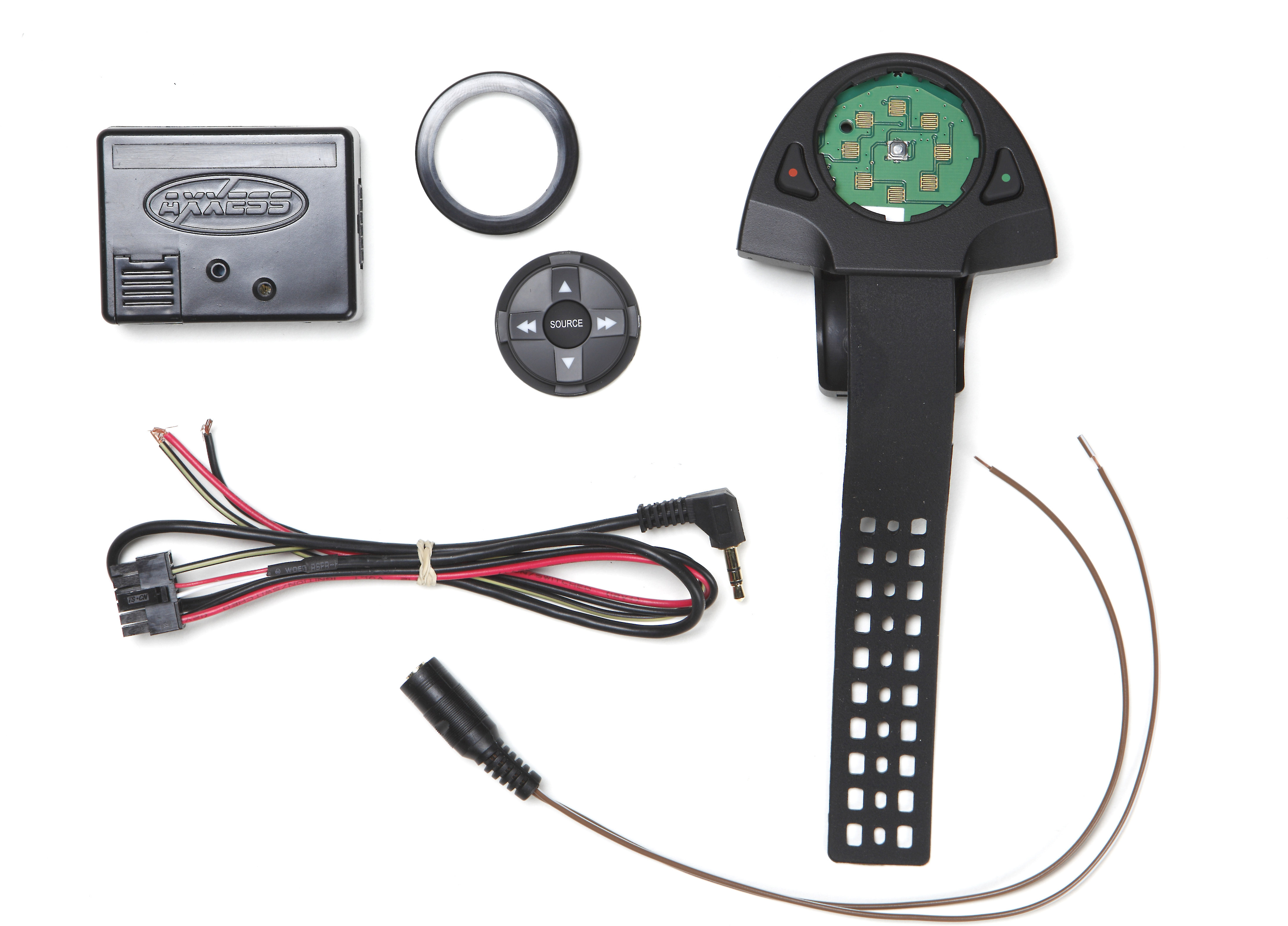 Axs Rfaswc Universal Steering Wheel Controls Package Add Audio To Your Vehicle Works With An Aftermarket Car Stereo S