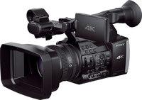 Sony FDR-AX1 Camcorder 4K/60p, 20x G Lens, Dual XQD,  XLR