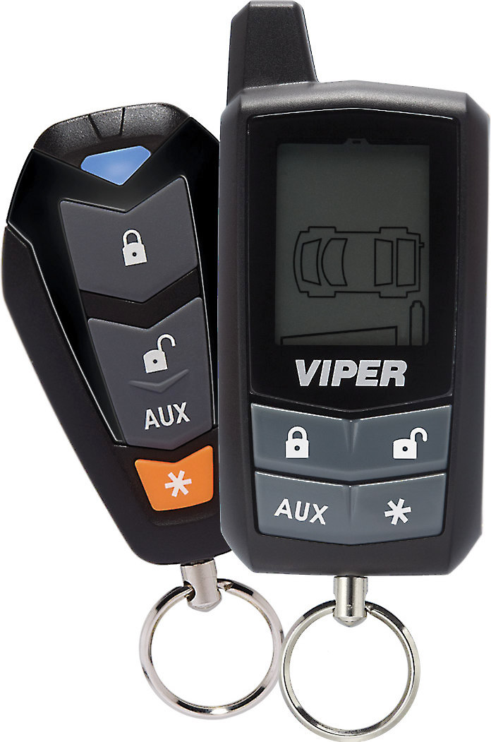 Viper Responder 350 (Model 3305V) Car security and keyless entry system on