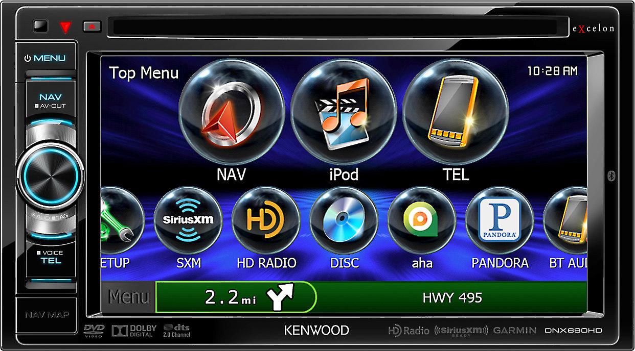 kenwood excelon dnx690hd  kenwood dnx890hd gps receiver user