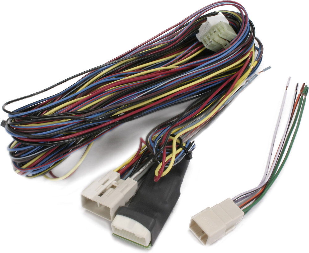 Metra 70 8215 Receiver Wiring Harness Allows You To Connect A New Trailer Hitch For Lexus Rx 350 Car Stereo And Retain Your Factory Climate Controls In 2005 Up Avalon At