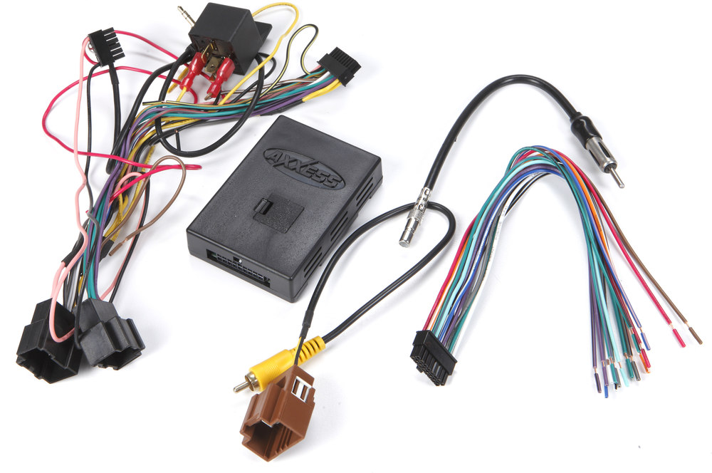 Axxess    GMOS      LAN      02       Wiring    Interface Connect a new car