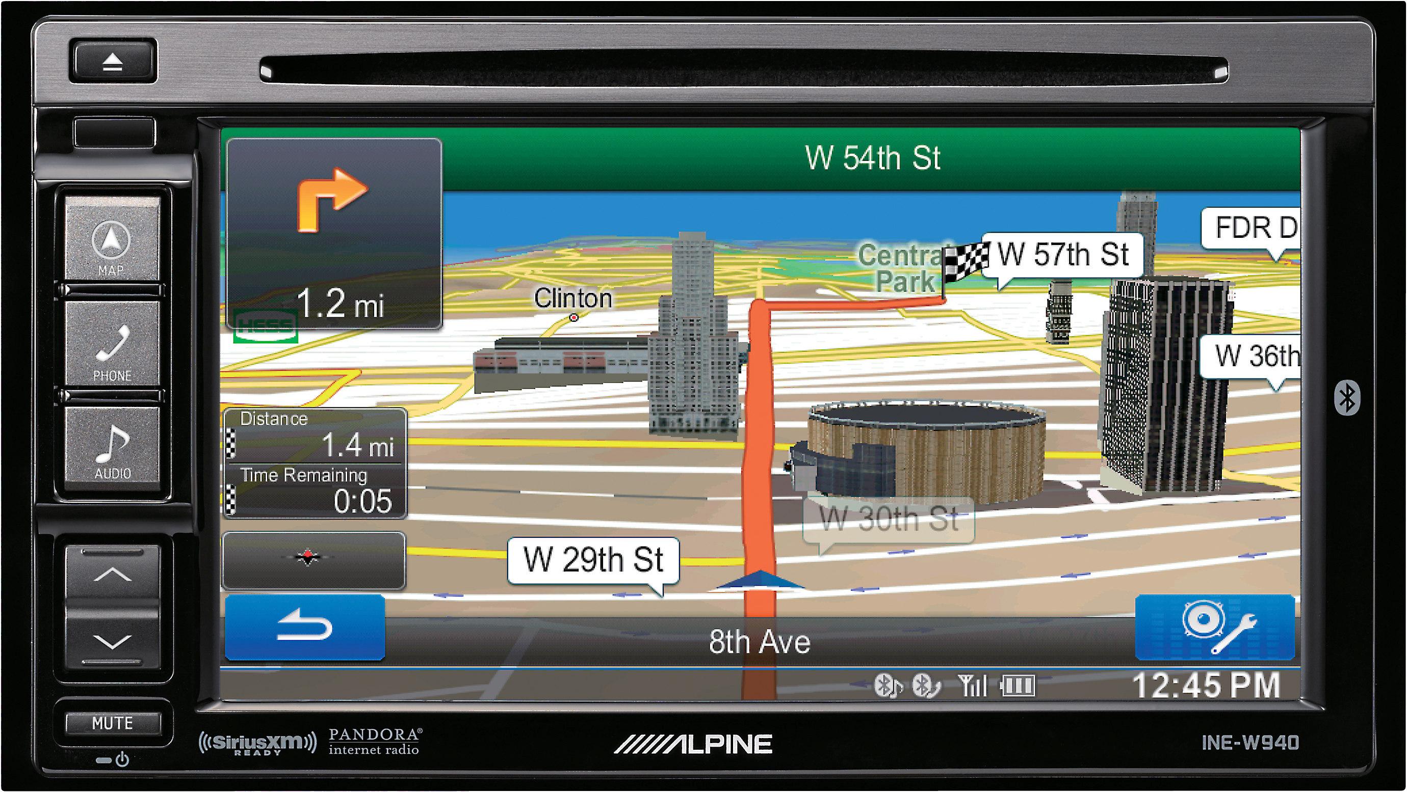 [SODI_2457]   Alpine INE-W940 Navigation receiver at Crutchfield | Alpine Navigation Wiring Diagram |  | Crutchfield