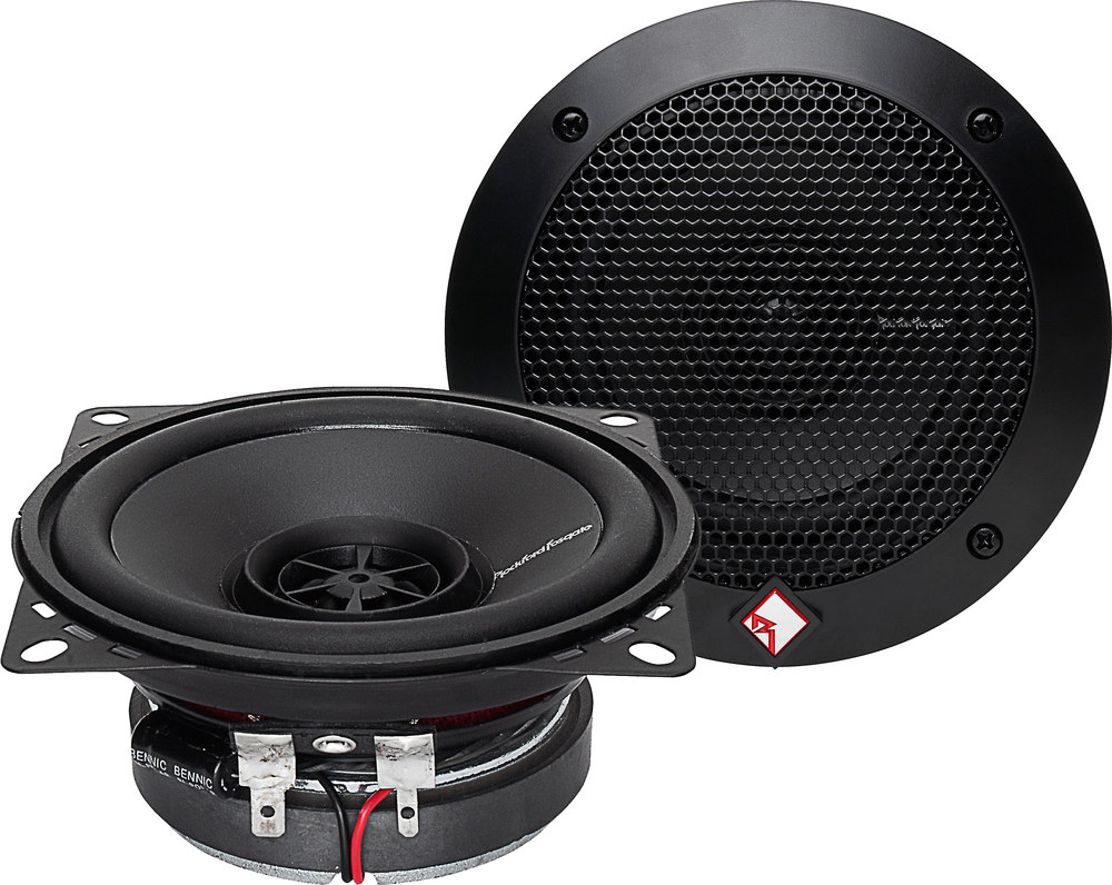 Jvc Cs Dr420 4 2 Way Car Speakers At Rockford Fosgate 8 Subwoofer R14x2