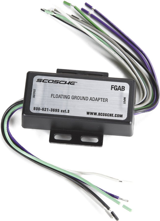 scosche fga floating ground adapter connect a new car stereo in rh crutchfield com