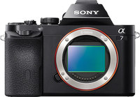"Sony Alpha ILCE-7/B Interchangeable Lens Camera- E-Mount, 24.3MP, HD, 3"" LCD, 4K Still, Wi-Fi, NFC"