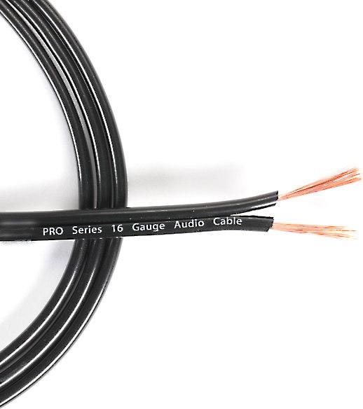 Stinger PRO Series Speaker Wire (10 Gauge) Priced per foot at Crutchfield
