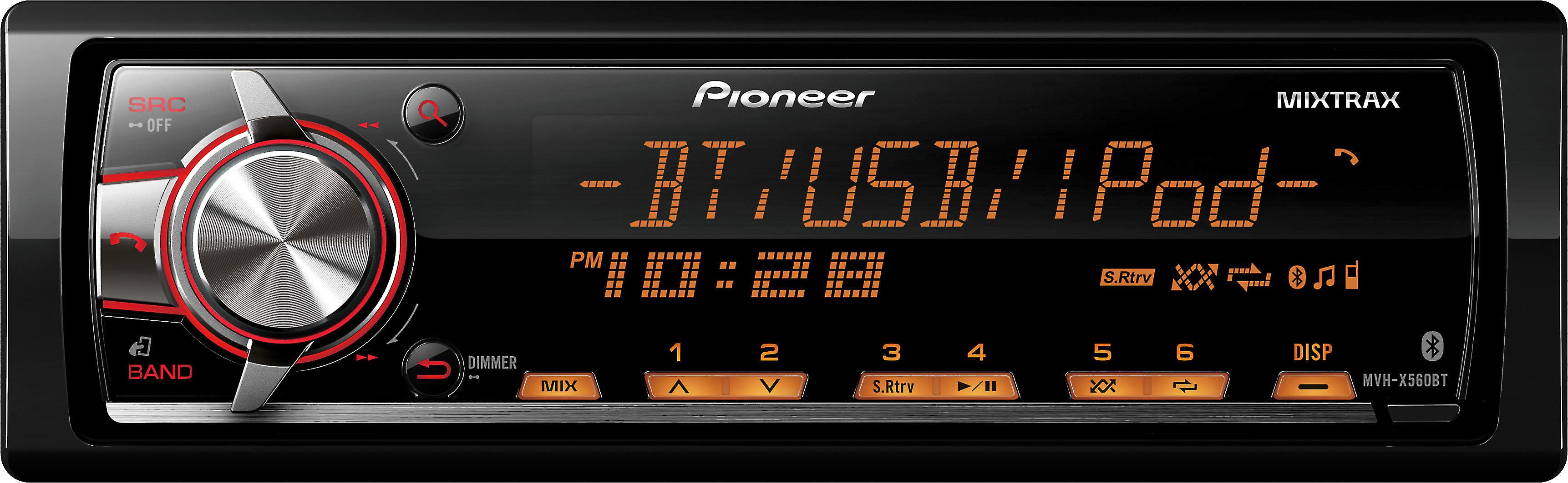 Wiring Mvh Car Pioneer Diagram Stereo X560bt - exclusive ... on