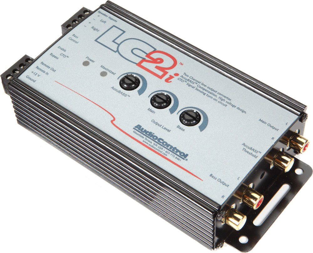 x161LC2i o_other audiocontrol lc2i 2 channel line output converter for adding amps Line Out Converter Wiring Common Ground at aneh.co