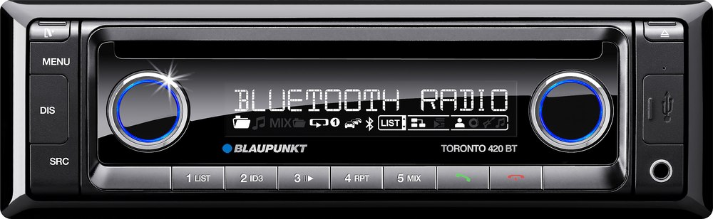 blaupunkt toronto 420 bt cd receiver at crutchfield com