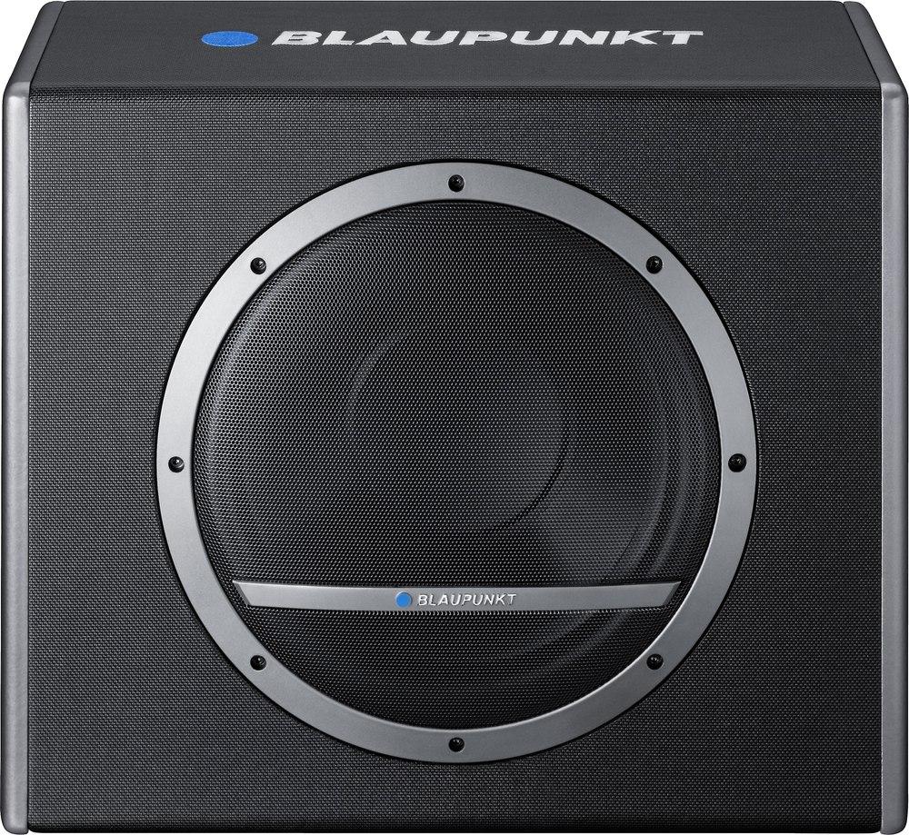 Blaupunkt Blue Magic Xlb 300 A Single 12 Subwoofer Enclosure With Kit Power Aktif 500 Watt Amp At