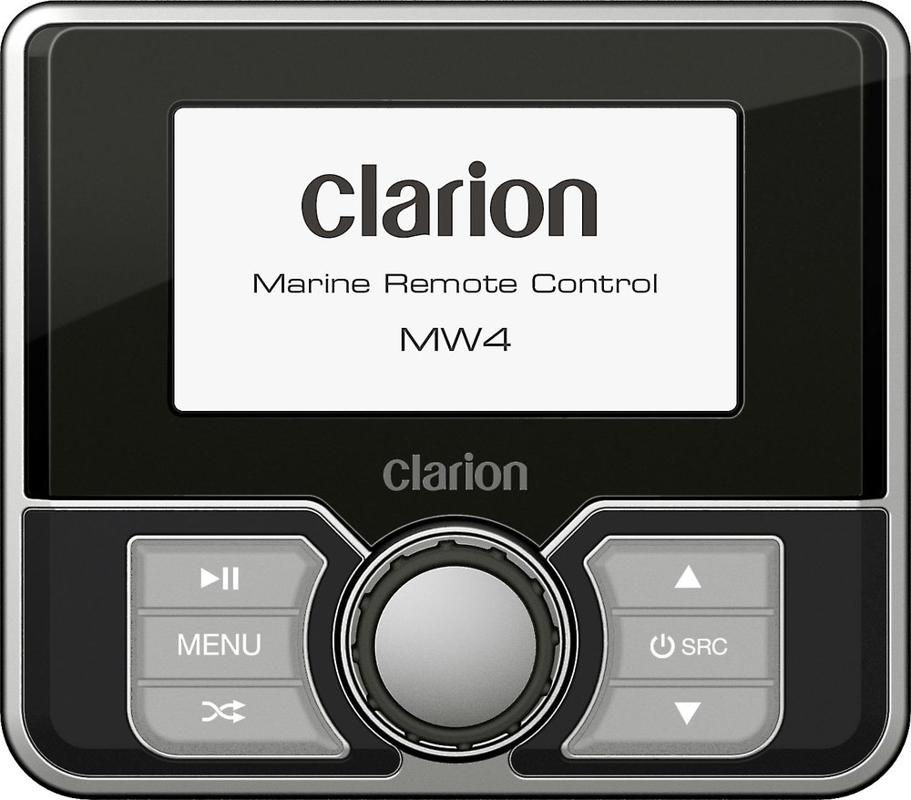Clarion MW4 Wired marine remote control with 2.8\