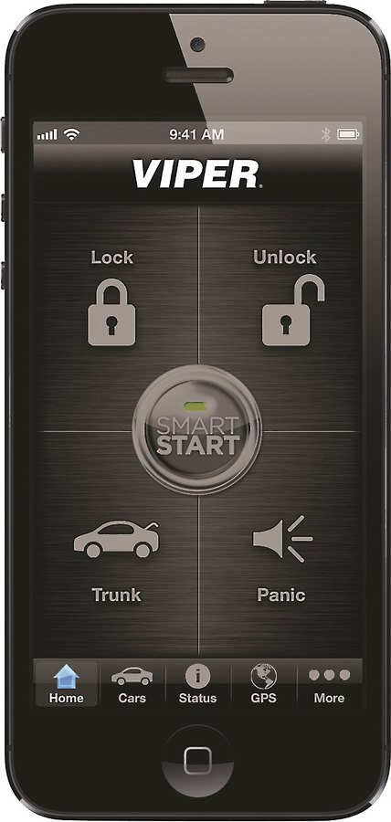 Viper VSS5000 SmartStart System Car security and remote start system on