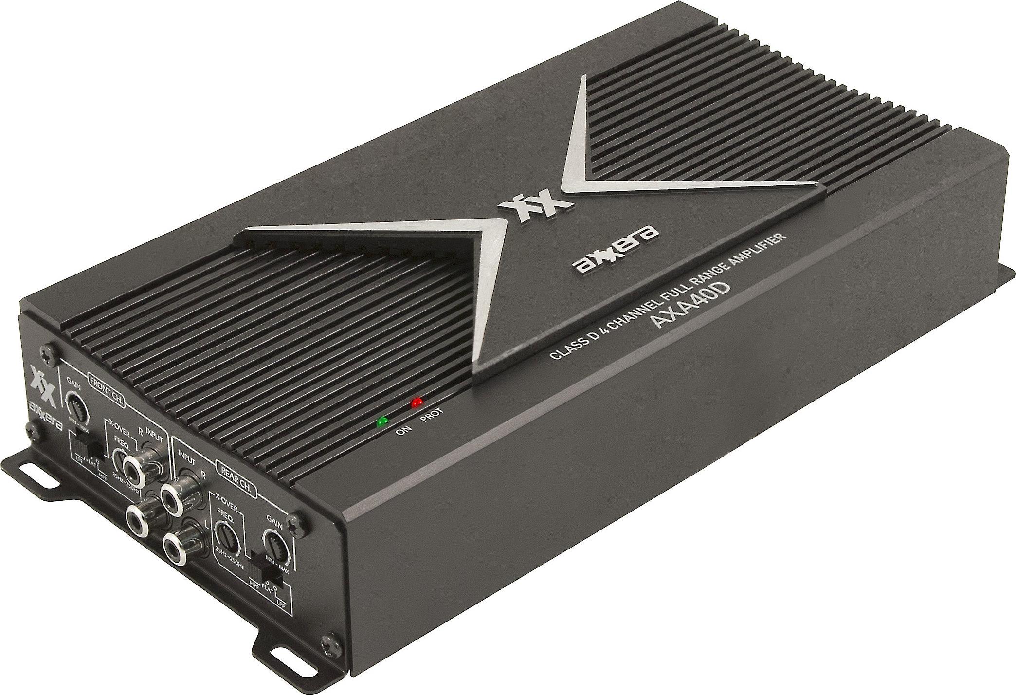 644e4c31 Axxera AXA40D AXA Series 4-channel car amplifier — 100 watts RMS x 4 at  Crutchfield.com