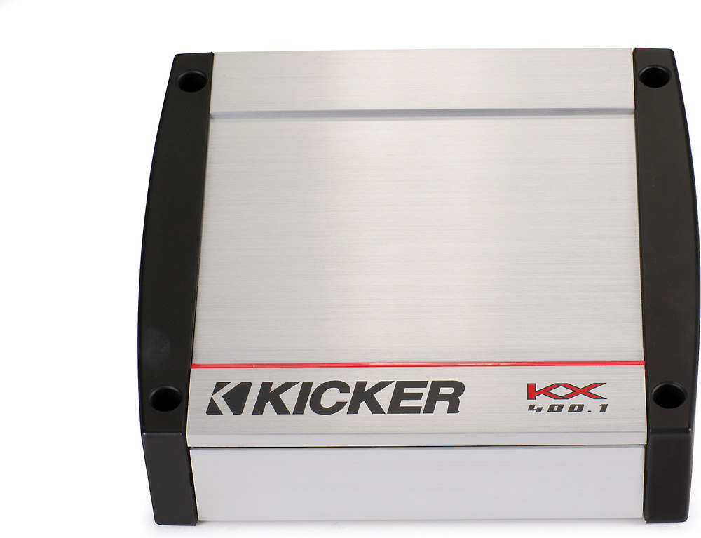Kicker 40kx4001 mono subwoofer amplifier 400 watts rms x 1 at 2 kicker 40kx4001 mono subwoofer amplifier 400 watts rms x 1 at 2 ohms at crutchfield sciox Image collections