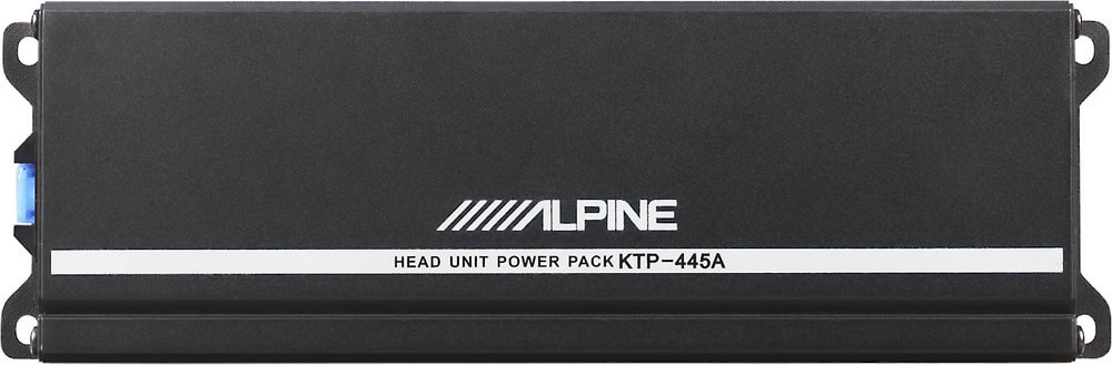 Alpine KTPA Power Pack Compact Upgrade Amplifier For Your - Crutchfield car wiring diagram