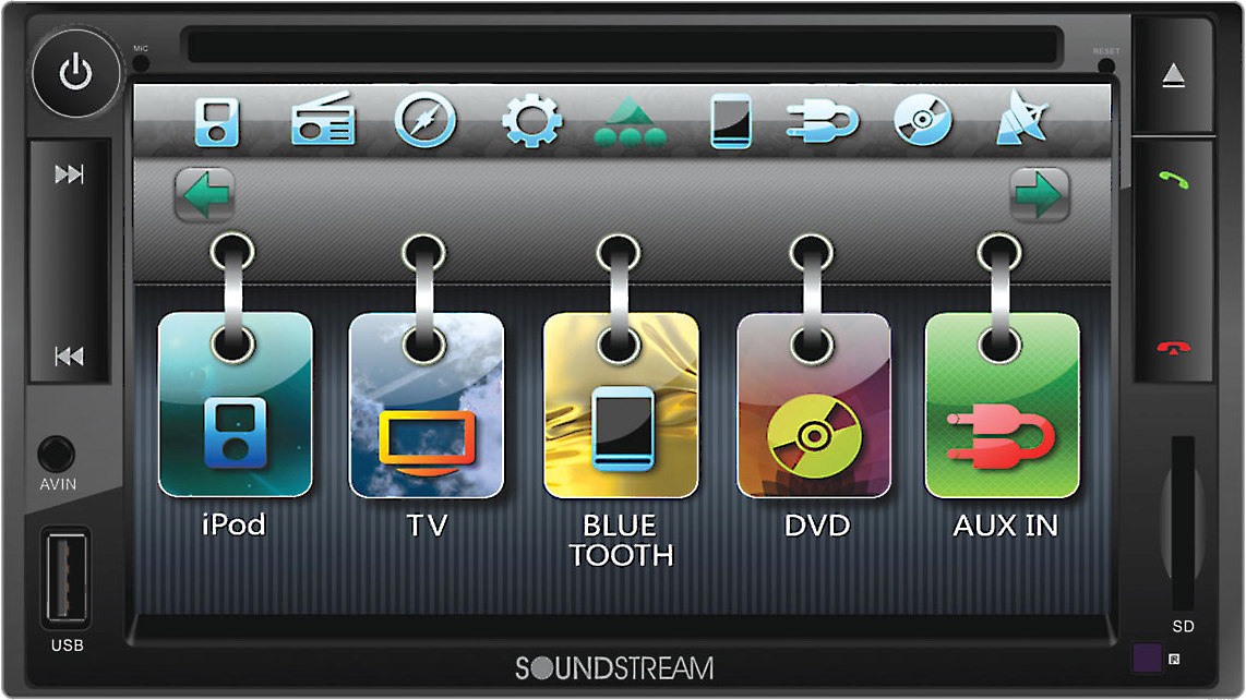 Soundstream VR-652NB