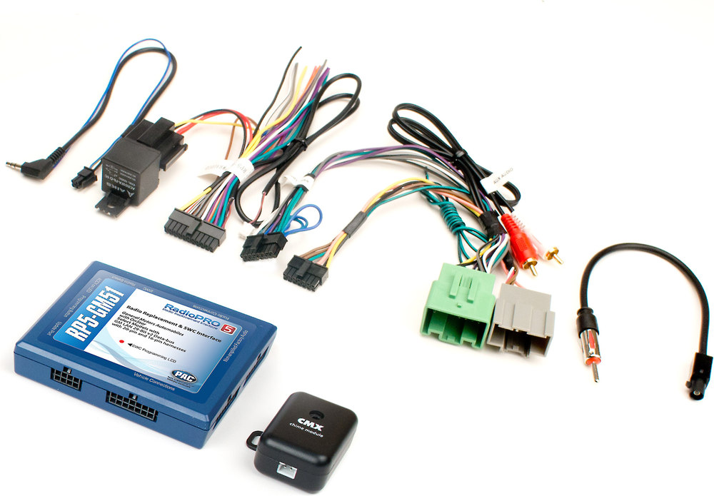 pac rp5 gm51 wiring interface connect a new car stereo and retain pac rp5 gm51 wiring interface connect a new car stereo and retain steering wheel controls safety warning chimes and onstar in select 2014 up gm vehicles
