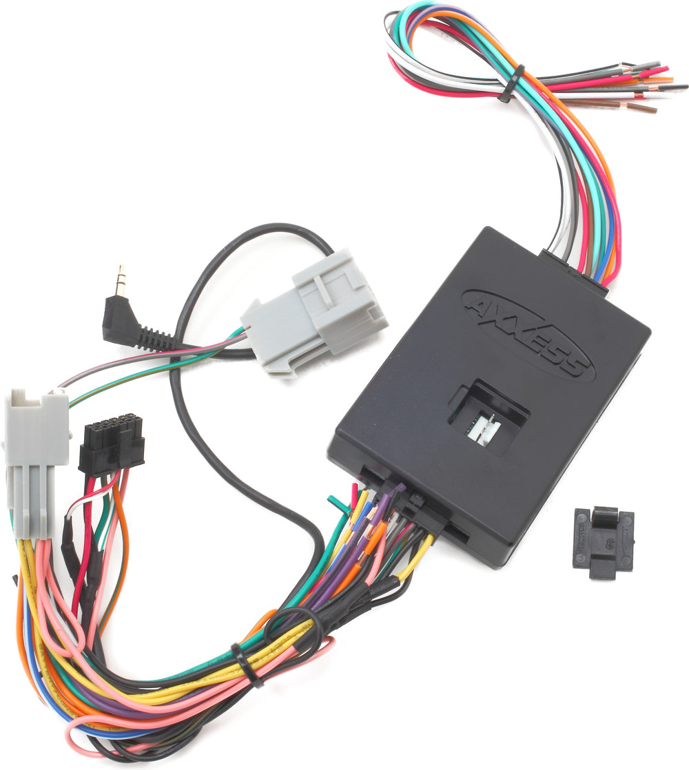Metra GMOS-01 Wiring Interface Connect a new car stereo and retain OnStar®,  factory door chimes, and audible safety warnings in select GM vehicles at  ...