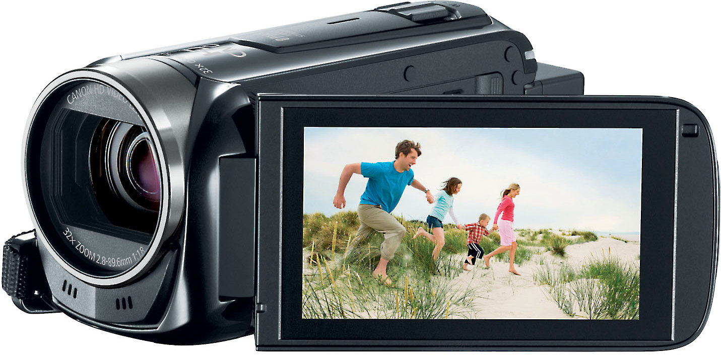 Canon Vixia Hf R500 High Definition Camcorder With Optical Image Stabilization At Crutchfield