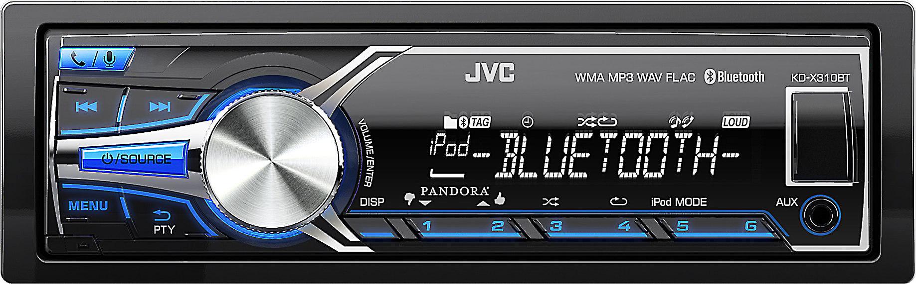 c4e0a63cce3e JVC KD-X310BT Digital media receiver at Crutchfield.com