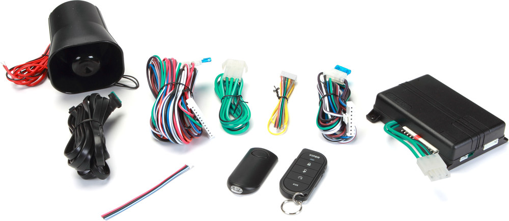 x6073606V F viper model 3606v 1 way car security and keyless entry system at viper 3606v wiring diagram at bayanpartner.co