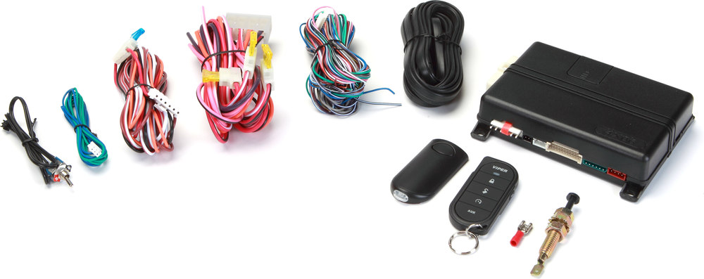 x6074606V F viper model 4606v 1 way remote start system with keyless entry at  at reclaimingppi.co