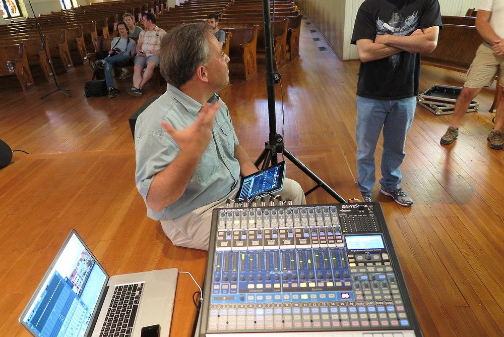 PreSonus StudioLive 16 4 2AI Mixer Installation