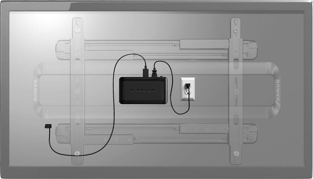 Sanus Sa206 Ecosystem Mini Space Saving Surge Protector
