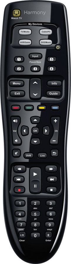 Logitech Harmony 350 Universal Remote With One Touch Tv Control At