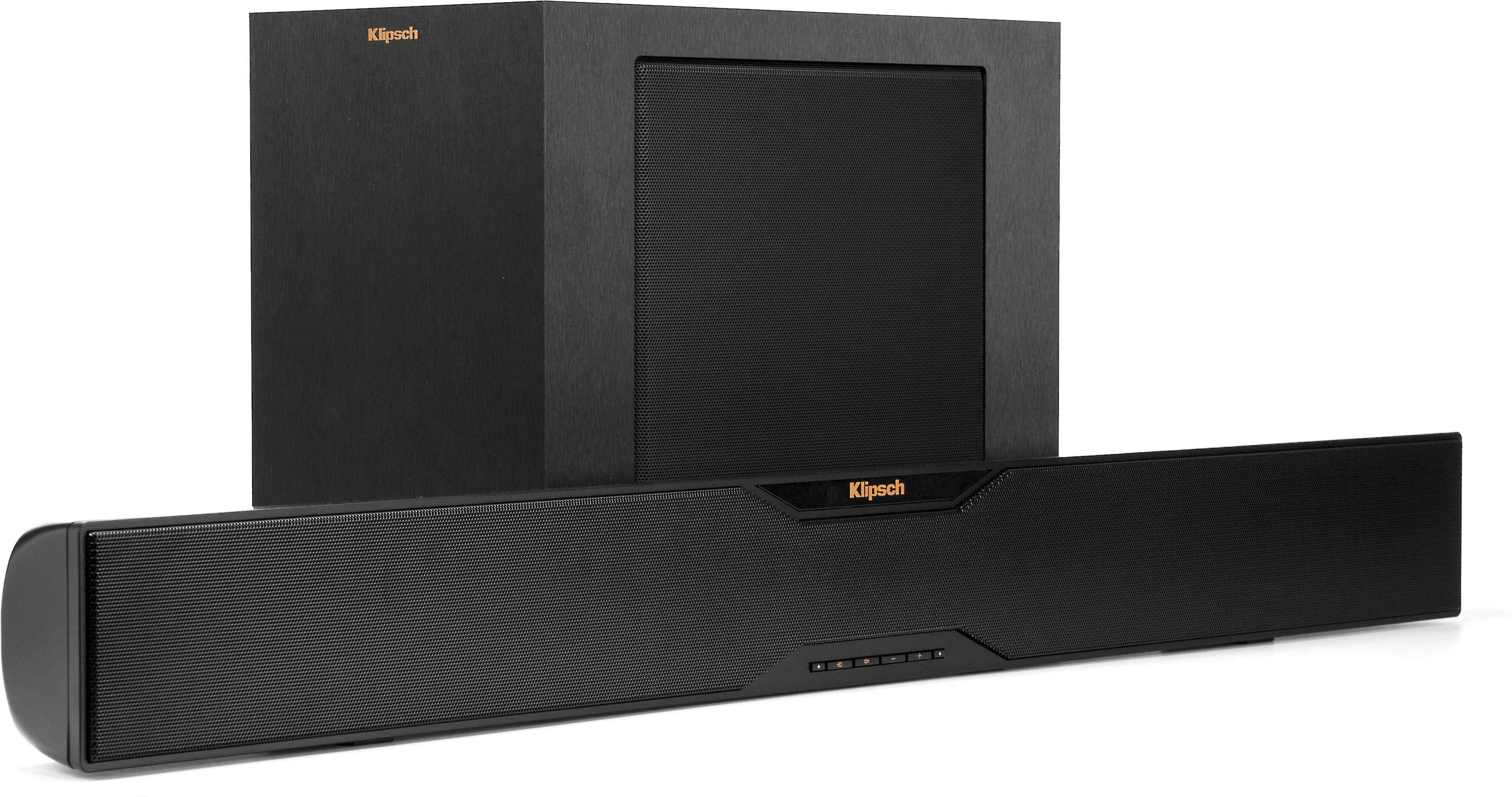 Klipsch Reference R-10B Powered home theater sound bar with