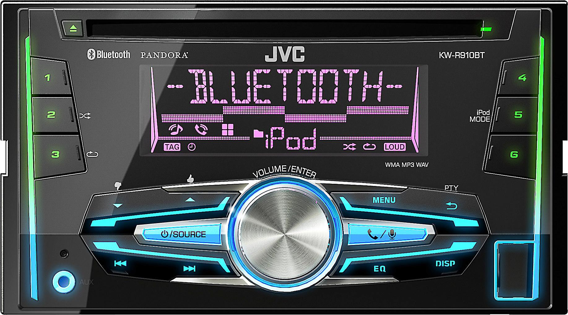 jvc kw r910bt cd receiver at crutchfield JVC KW- R500
