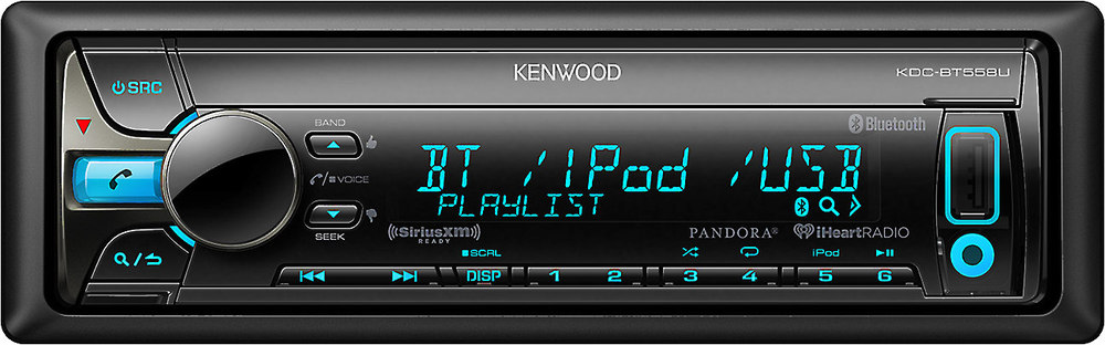 kenwood kdc bt558u cd receiver at crutchfield com