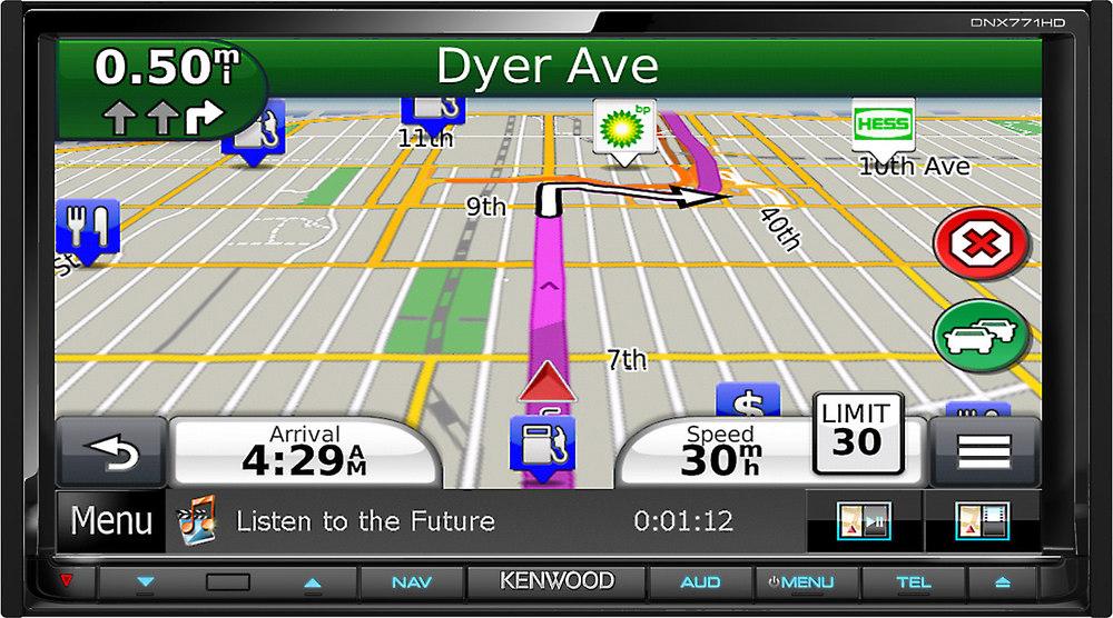 KENWOOD DNX771HD Multimedia Receiver Bluetooth Treiber Windows 7