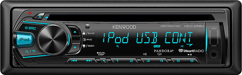 x113KDC258U F kenwood kdc 258u cd receiver at crutchfield com kenwood kdc-258u wiring harness at bayanpartner.co