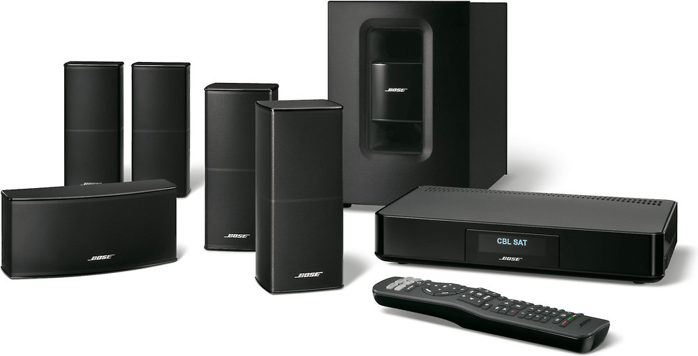 powered home theater system