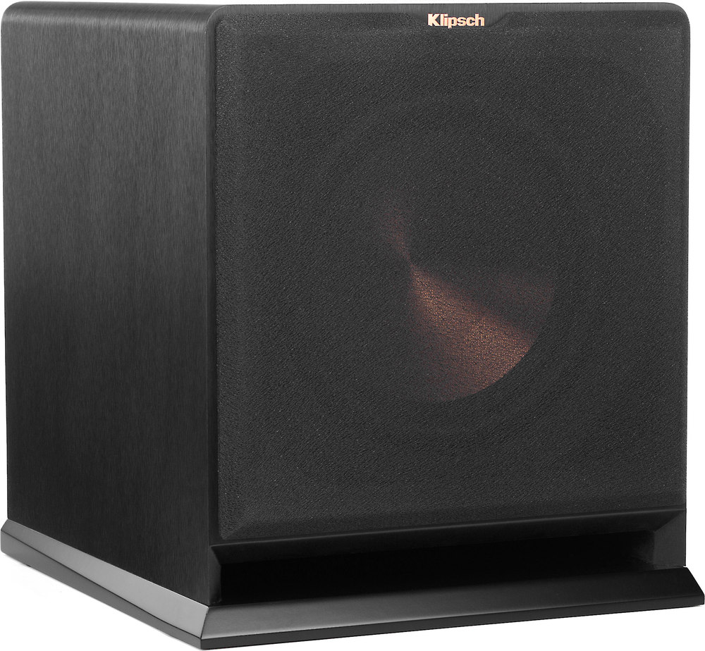 Klipsch Reference R 110sw Powered Subwoofer Wireless Adapter Headphone Wiring Diagram Optional At
