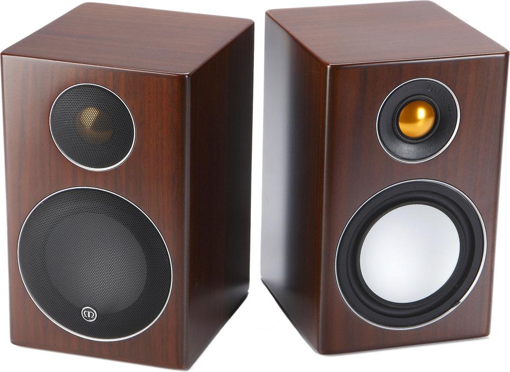 monitor audio radius 90 walnut bookshelf speakers at. Black Bedroom Furniture Sets. Home Design Ideas