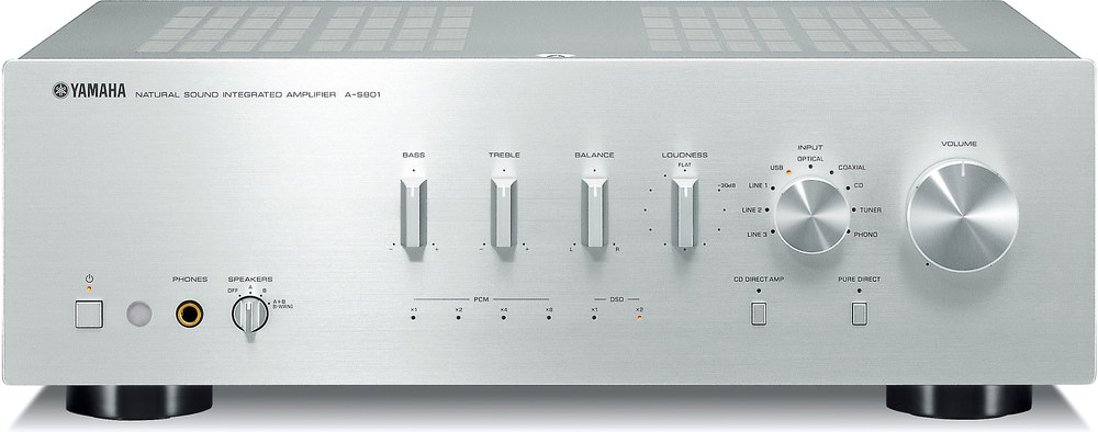 Yamaha Integrated Amplifier With Bluetooth