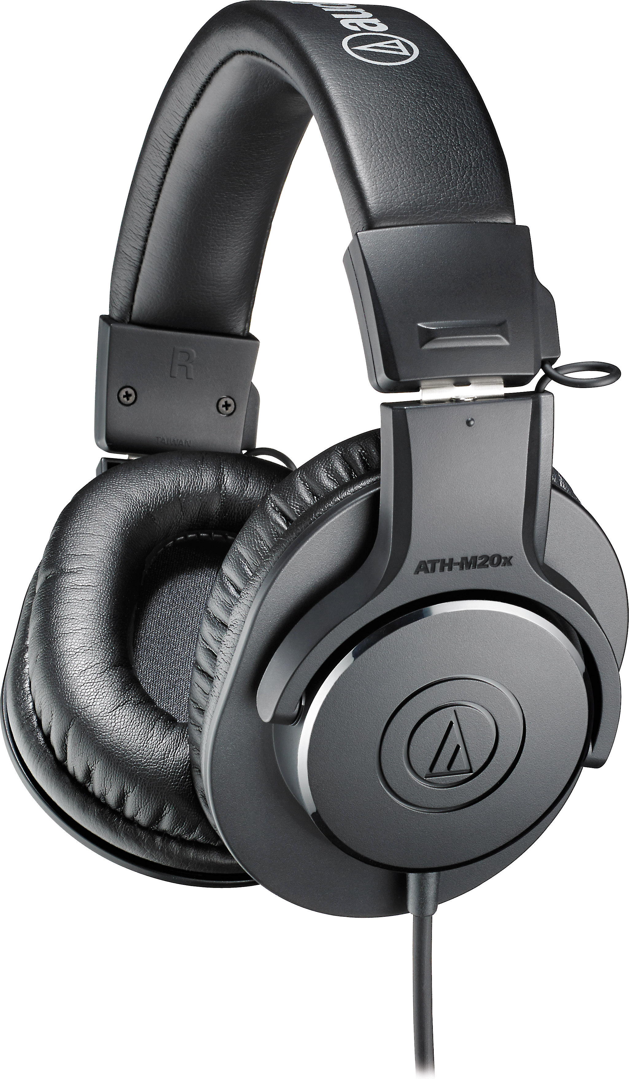 ed2a62f873b Audio-Technica ATH-M20x Professional monitor headphones at Crutchfield