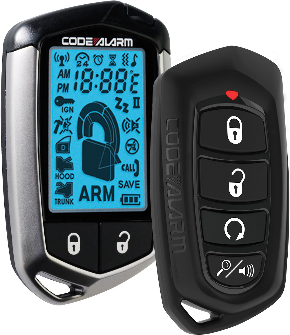 Code Alarm Ca5554 Remote Start And Keyless Entry System With 2 Way Panic Circuit Diagram Lcd At