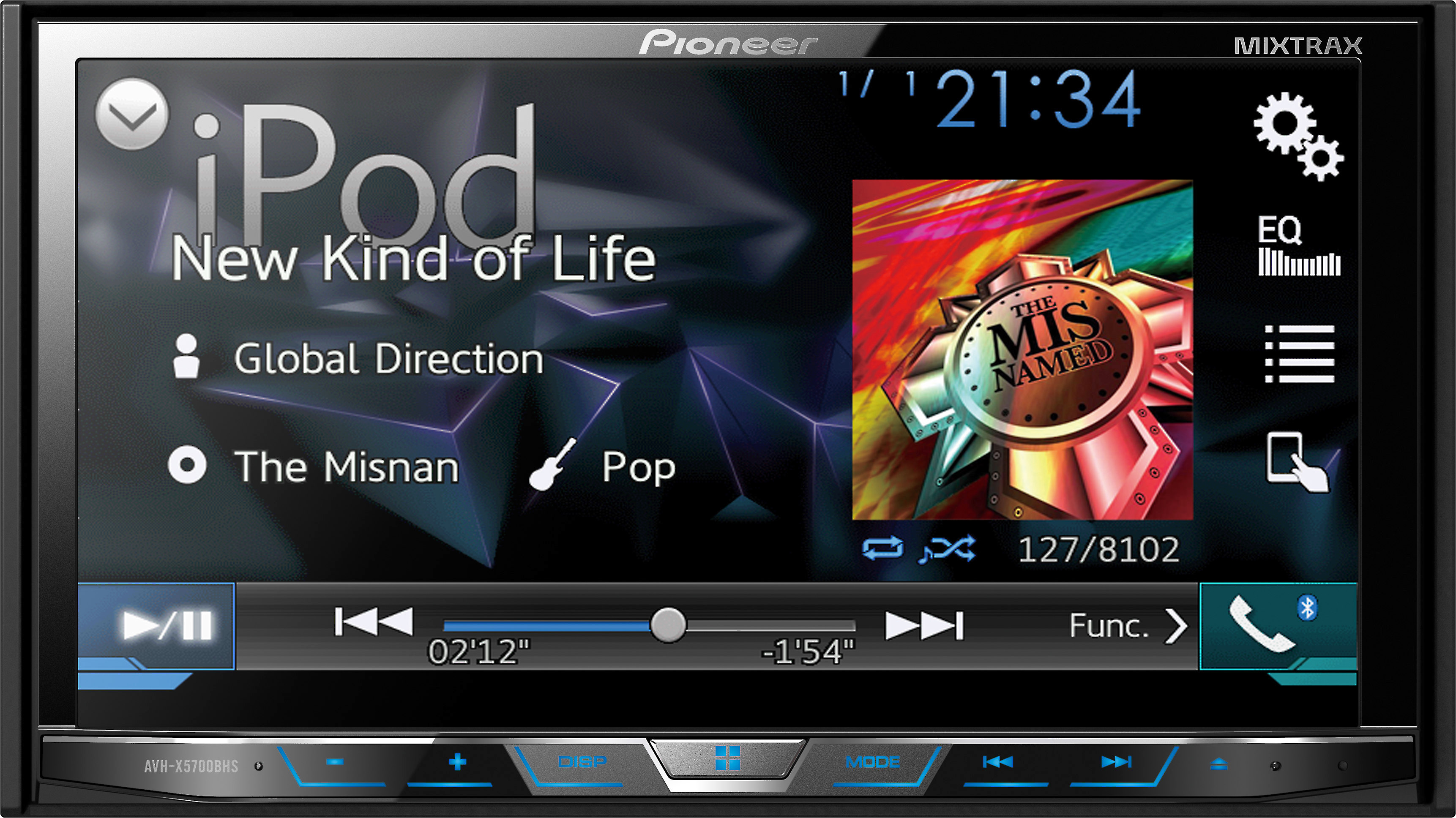 PIONEER AVH-X5700BHS RECEIVER DRIVER FOR MAC