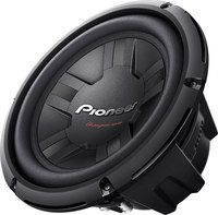 "Pioneer TS-W261D4  10"" dual 4-ohm Component Subwoofer"