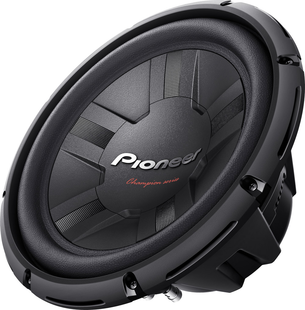 Pioneer Ts W311d4 Champion Series 12 Subwoofer With Dual 4 Ohm Wiring Diagram Together Voice Coil Speaker Coils At