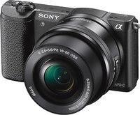 Sony ILCE-5100L/B Mirrorless DSLR w/ 16-50mm Lens- Black ...