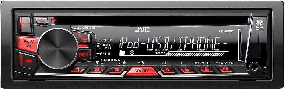 x105KDR660 F jvc kd r660 cd receiver at crutchfield com jvc kdr660 wiring diagram at virtualis.co
