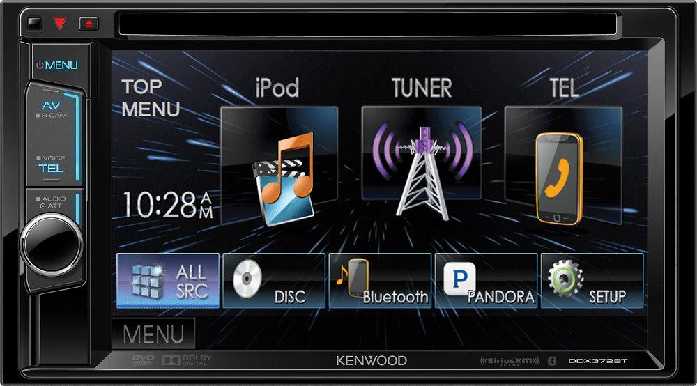kenwood ddx372bt dvd receiver at crutchfield com rh crutchfield com