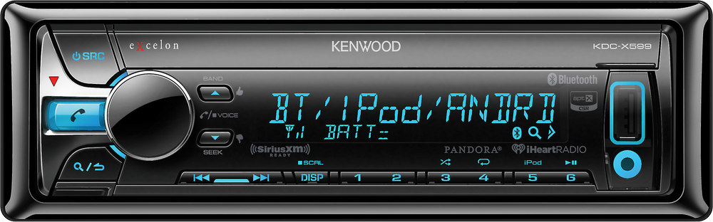 x113KDCX599 F kenwood excelon kdc x599 cd receiver at crutchfield com kenwood kdc x599 wiring harness at aneh.co
